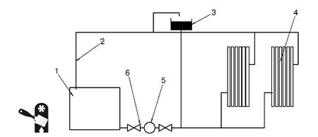 Схема отопления с расширительным баком фото 634